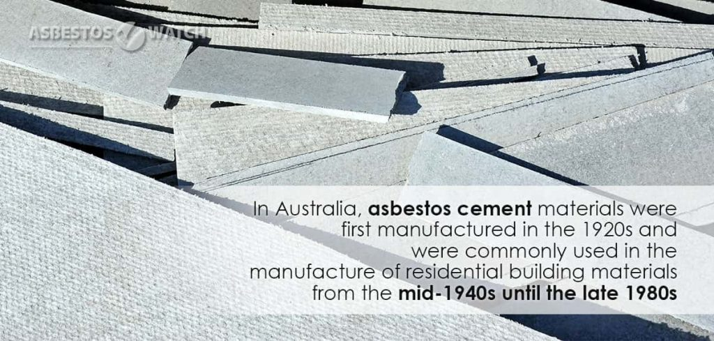 Asbestos Cement sheeting materials