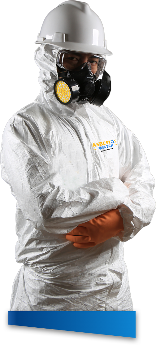 Asbestos Watch technician